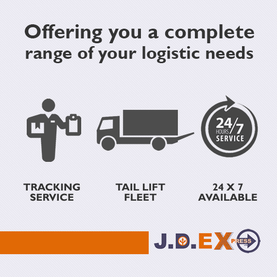 The complete range of courier services